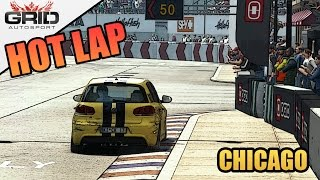 Grid Autosport Gameplay - Hot Lap - Volkswagen Golf R - Chicago