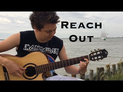 Reach Out (Iron Maiden) Acoustic - Thomas Zwijsen (filmed at Antwerp Tall Ships Race)