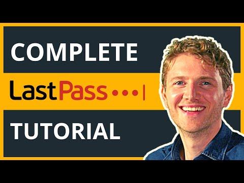 LastPass Best Free Password Manager - Complete Tutorial 2020