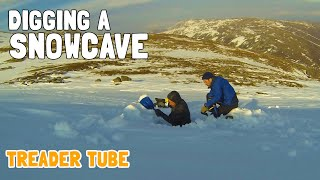 One of TREADER TUBE's most viewed videos: Digging/sleeping in a snow cave. Aviemore, Scotland