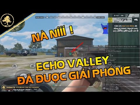 Rule Of Survival VN #56 - NÀ NÍ??Cầm AN94 GIẢI PHÓNG ECHO VALLLEY - [Rules Of Survival] ✔️