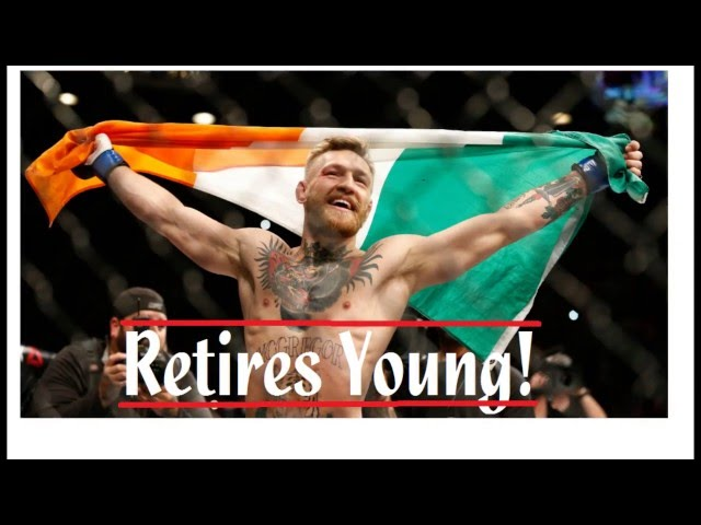 Conor Mcgregor Retires Young - Shocking Announcement on Twitter!