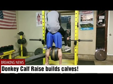 Donkey Calf Raises build calves!