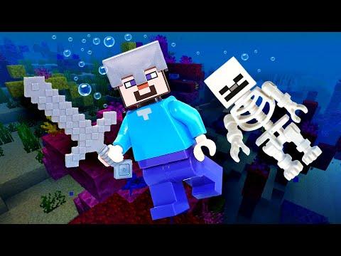 Майнкрафт видео - Нуб под водой в Minecraft! – Летсплей игры в шоу .