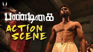 Pandigai -  Action scene | Krishna | Anandhi