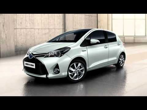 2018 toyota yaris hybrid youtube. Black Bedroom Furniture Sets. Home Design Ideas
