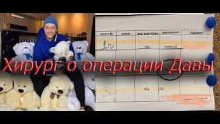 Эксклюзив Хирург Давы рассказал о его операции Давид Манукян Новости Ольга Бузова