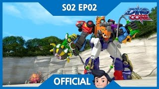 Video [DinoCore] Official | The appearance of New DinoCore, Tri | Triceratops Robot | Season 2 EP02 download MP3, 3GP, MP4, WEBM, AVI, FLV Agustus 2018