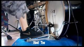 Trick Pro1-V Bigfoot Double Pedal Speed Test