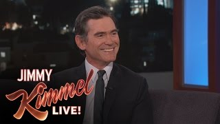 Billy Crudup Asks Jimmy Kimmel For a Better Nickname