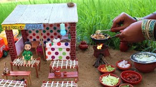 Miniature Chicken Fried Rice | Dhaba Style Chicken Fried Rice Recipe | Miniature Cooking #35