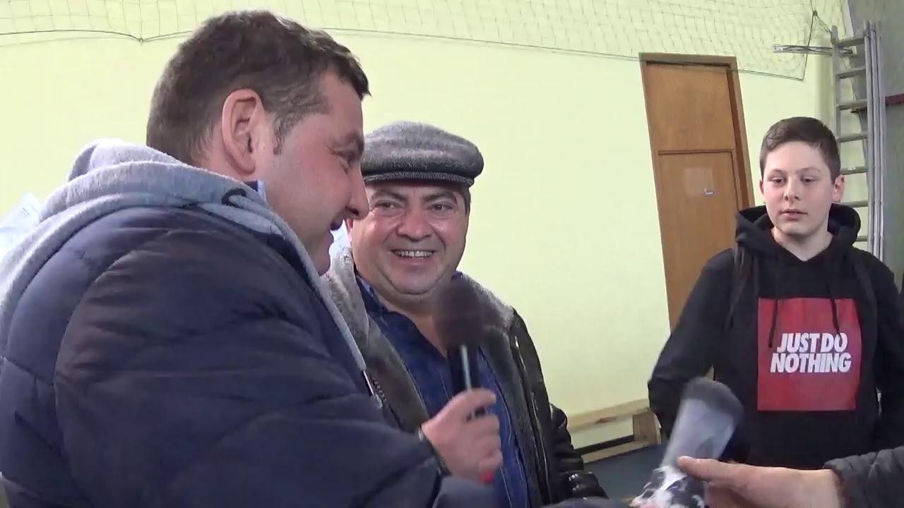 FRSC National Racing Pigeons Exhibition Rasnov Brasov Romania pigeons raffle 2020 January 11