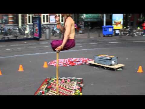 Popular Magician Ramana amazing Balance Indian Magic performance on street