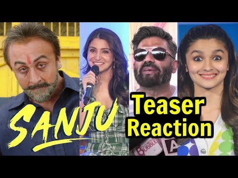 Sanju Teaser Reaction By Bollywood Actors Actress