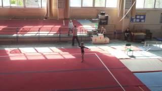 Юля-спортивная гимнастика. Вольные