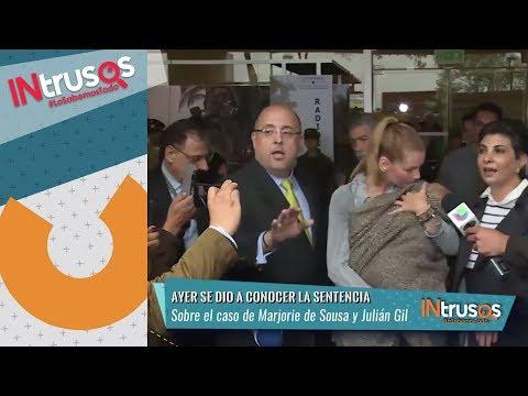 Dictan sentencia para Marjorie de Sousa y Julián Gil en su pleito legal   Intrusos   Nu9ve