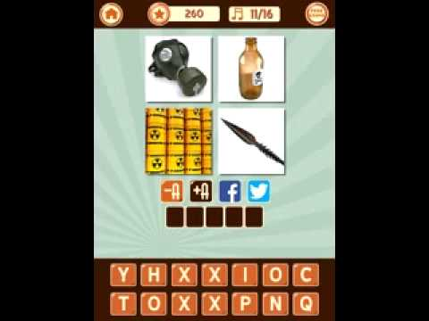 4 Pics 1 Song game answers level 3
