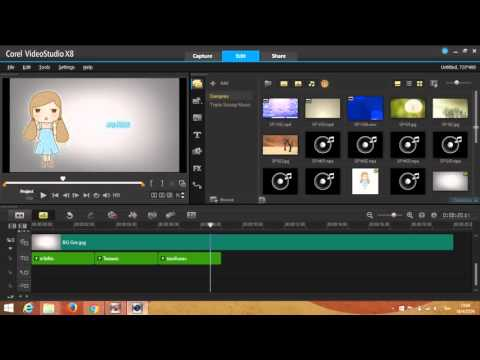 Corel Videostudio Pro X8 Archives
