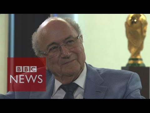 Sepp Blatter (FULL) interview - BBC News