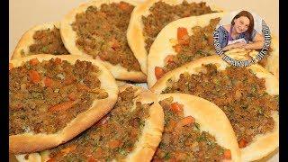 Лахмаджун. Арабская (Турецкая) пицца Lahmacun. Как приготовить