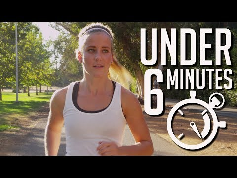 How to Run a Mile UNDER 6 Minutes (with Triathlon Coach)
