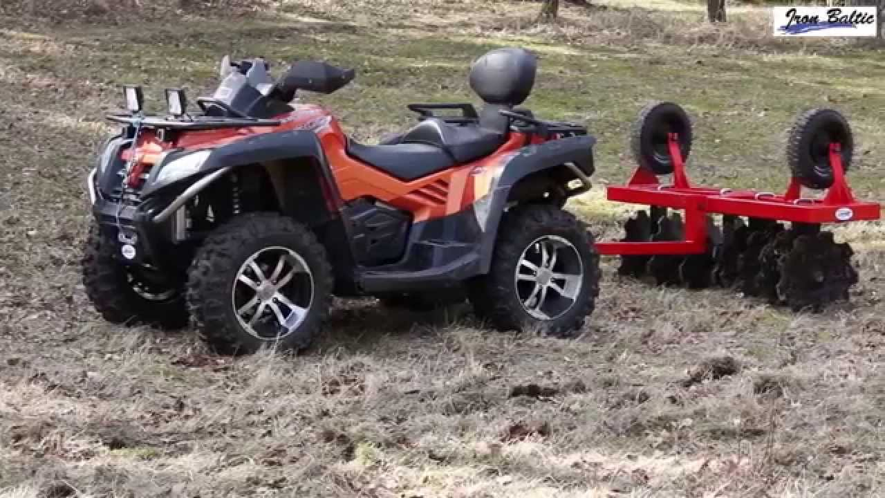 how to build a atv disc plow
