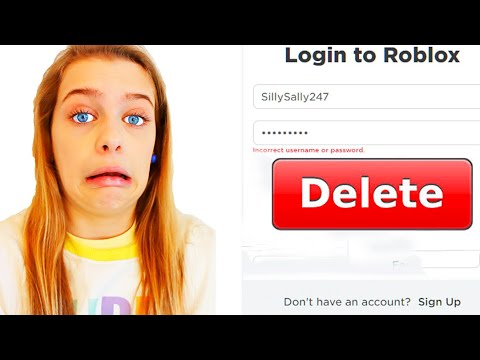 WE'RE GETTING RID OF OUR ROBLOX ACCOUNTS Gaming w/ The Norris Nuts