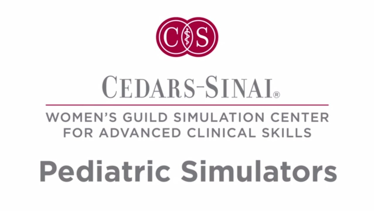 Simulation Center Pediatric Simulators | Cedars-Sinai