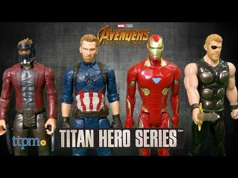 *Marvel Avengers Infinity War Movie* 12 INCH THOR EYE PATCH TITAN HERO FIGURE