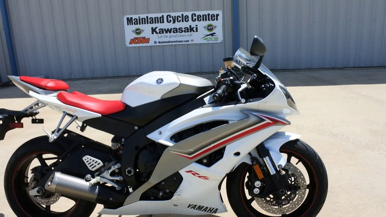 for sale 5 999 used 2009 yamaha yzf r6 mainland cycle center youtube. Black Bedroom Furniture Sets. Home Design Ideas