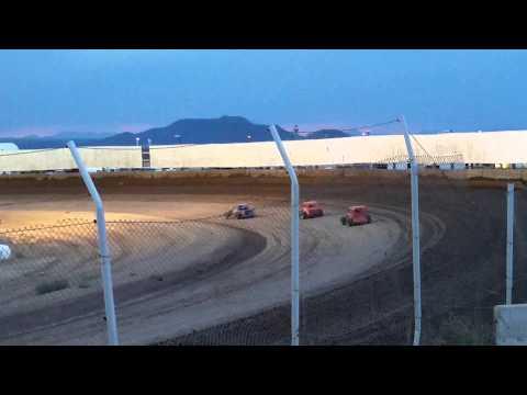 DDCC DWARF CARS HEAT #3 AT USA RACEWAY 6/27/15