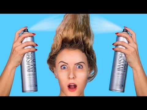 short-hair-vs-long-hair-problems-/-cool-hair-life-hacks