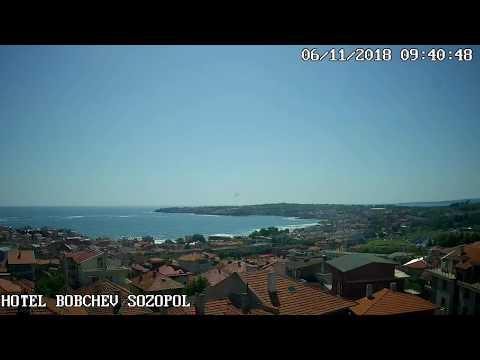 Созополь веб камера - Отель Бобчев 11.06.18