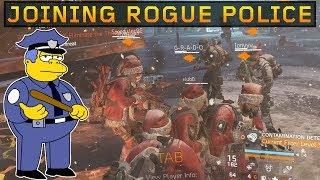 I Joined The Rogue Police! SOLO DZ PVP #80 (The Division 1.8.3)