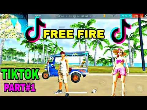 Free Fire Best TikTok Video Part#1 Funny Moment & Funny Song Free Fire Battleground