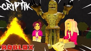 WHO IS THE MONSTER IN DISGUISE?! Roblox: Cryptik