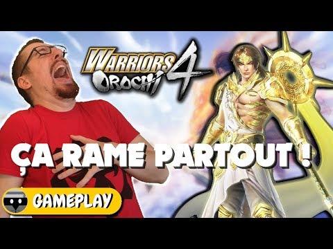 WARRIORS OROCHI 4 : ÇA RAME PARTOUT Dans Ce Jeu ! Gameplay FR