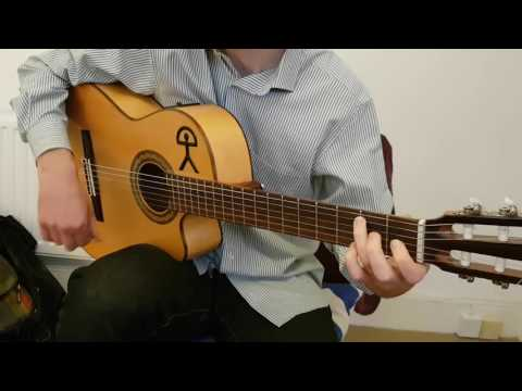Farruca - Flamenco Guitar Lesson - Arrangement by Hugh Burns