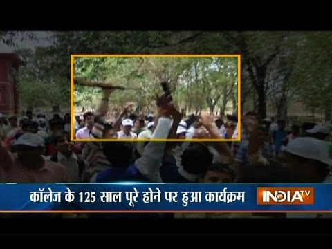 Video: Celebratory Firing In the Air in Holkar College Indore