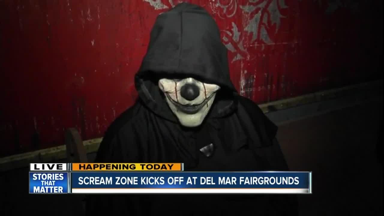 scream zone kicks off at del mar fairgrounds - Del Mar Fair Halloween