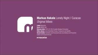 Markus Hakala - Curacao (Original Mix) [Macarize]