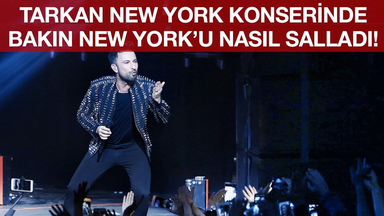 Megastar Tarkan New Yorku salladı