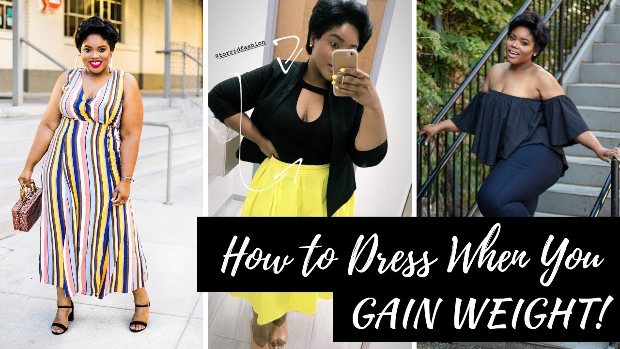 HOW TO DRESS STYLISH WHEN YOU GAIN WEIGHT!!! PLUS SIZE TRY-ON HAUL ...