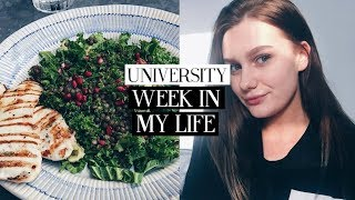 university week in my life: week in colchester & shopping in london | Caitlin Rose