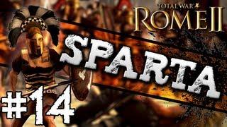 Total War: Rome II: Sparta Campaign #14 ~ Ambush, Ambush...AMBUSH!!!