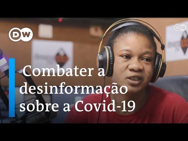 Gana: Enfermeira luta contra desinformação sobre Covid-19