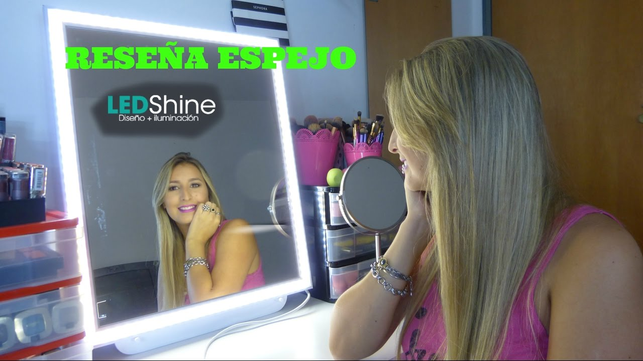 espejos con luces led shine argentina