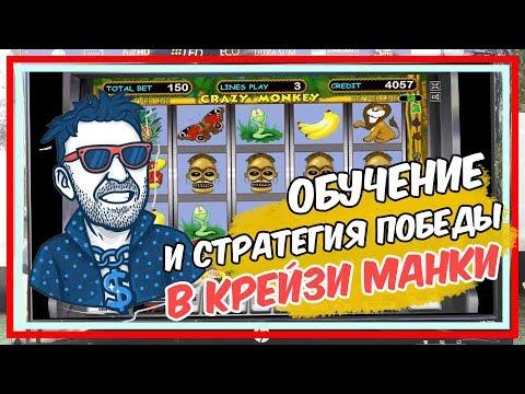 Как обыграть казино в игровом слоте Крейзи манки Обучение и стратегия
