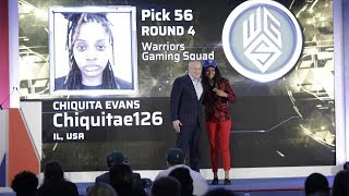 NBA 2KLeague Drafts First Ever Woman Chiquita Evans To The Warriors - We Got Game