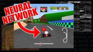 A Neural Network Plays Mario Kart 64